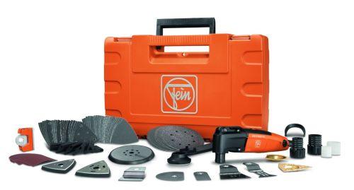 Fein FMM 250Q Top Plus MultiMaster Oscillating Detail Sander Tool Kit