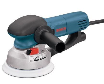Bosch 1250DEVS 6-1/2-Amp Random Orbit Sander With Vacuum Port