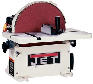 JET 708433 JDS-12B 1-Horsepower 12-Inch Benchtop Disc Sander with Circle Jig and Miter Gauge
