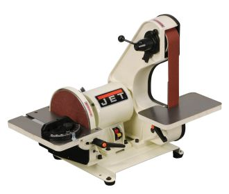 JET J-41002 2-Inch by 42-Inch 3/4-Horsepower Bench Belt and 8-Inch Disc Sander