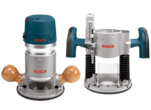 Bosch 1617EVSPK Plunge and Fixed Base Variable Speed Router Kit